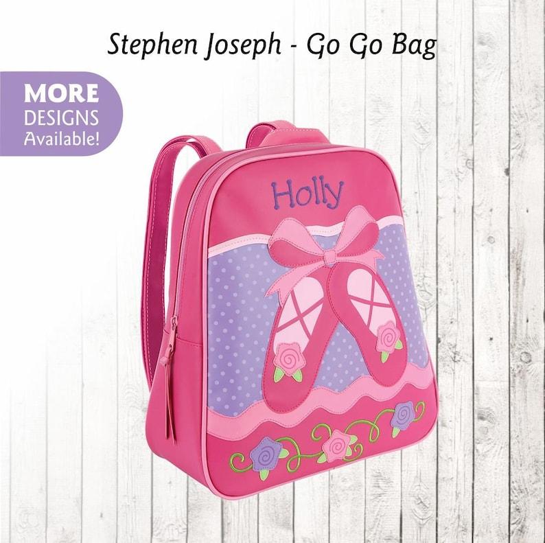 Personalized Ballet Backpack, Stephen Joseph