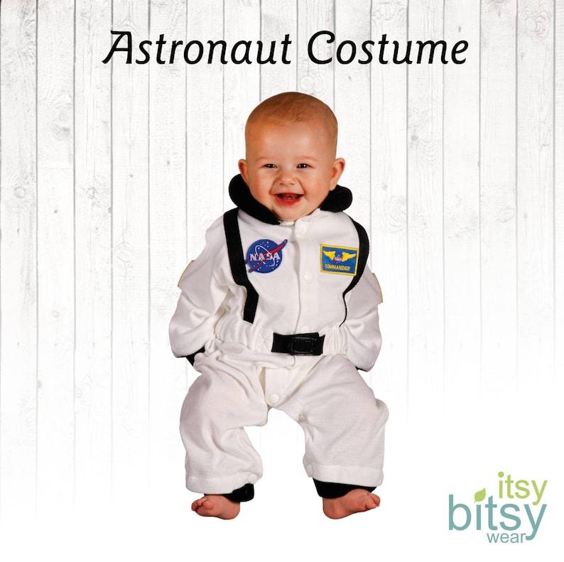 Astronaut Halloween Baby Costume Personalized Astronaut image 0