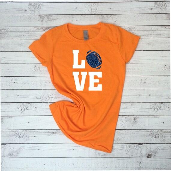 0fbce1b75 Custom kid s Football Love Shirt Team Shirt