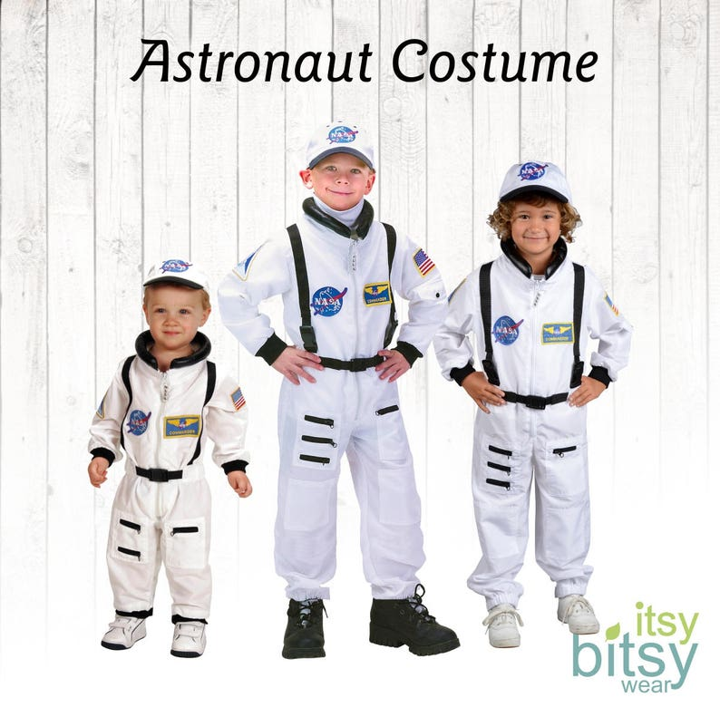 Astronaut Halloween Kids Costume Kids Personalized