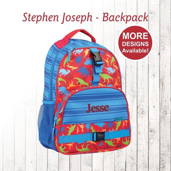 Stephen Joseph Backpack Personnalisé de dos dinosaure à Etsy sac vqFvUA
