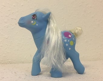 NIGHT GLIDER, Twice as Fancy Pony,  My Little Pony, vintage G1 My Little Pony, Friendship is Magic