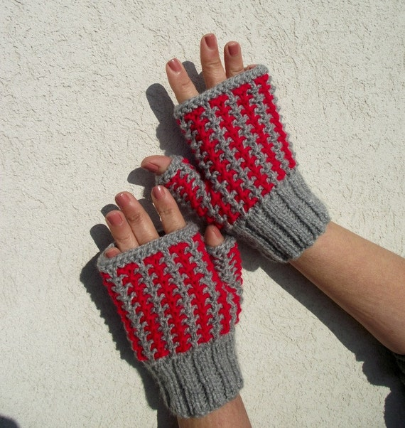 Knitting Pattern Mittens Gloves Charly Mittens Knit Mittens Etsy
