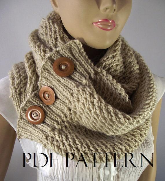 Knitting Pattern Scarf Big Scarf Patterns Loulou Scarf Cowl Pattern