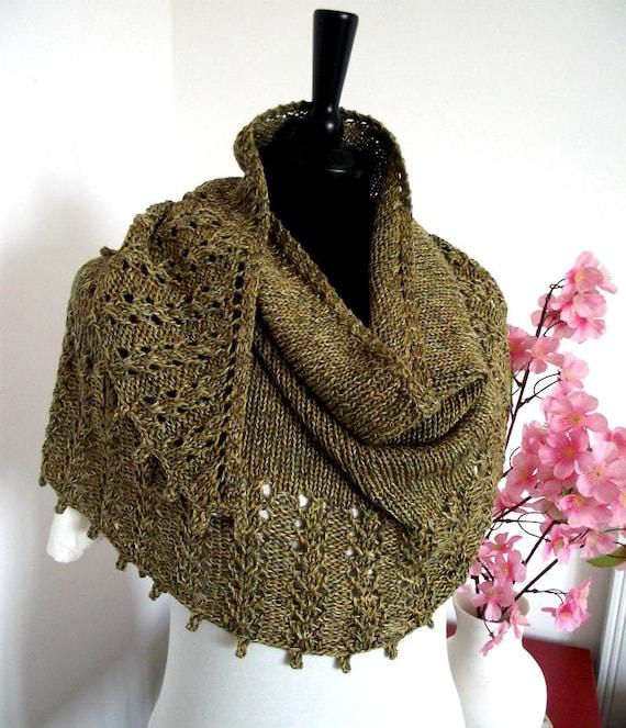 Knitting Pattern Shawl Eternity Shawl Pattern Knit Pattern Etsy