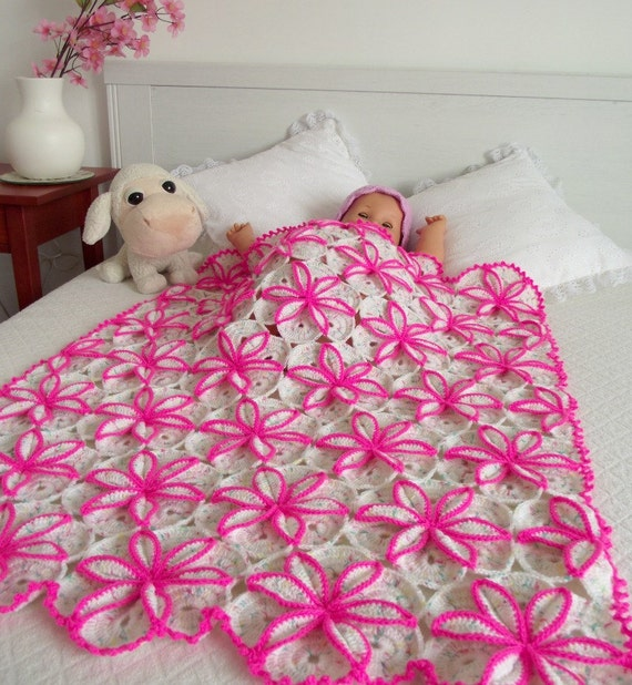 Crochet Baby Blanket Pattern Crochet Pattern For Baby Princessa