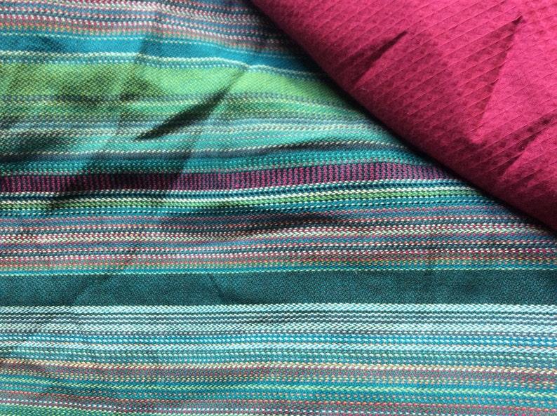 bc7d94e0b75 Wrap mei tai baby from carrier Girasol Selva and bordo cotton