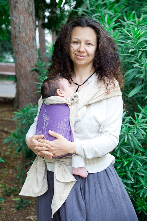 c1a9a9eac1b Wrap Conversion Mei Tai from Didymos Clematis and Storch Leo.