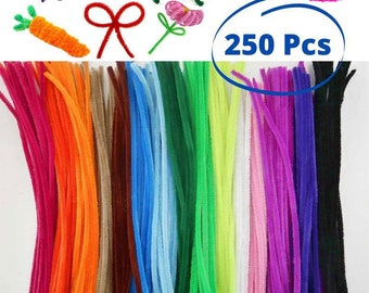 100 X Smoking PIPE CLEANERS Extra Absorbent 100/% Cotton CHENILLE STICKS