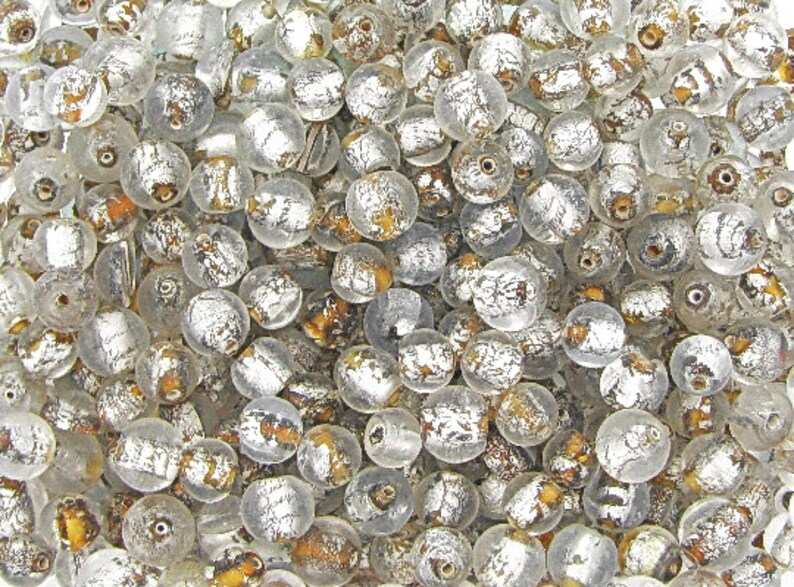 Glass Beads For Jewelry Making Indian Glass Beads Bulk Lot 1.1 Lb +- Tribal Bracelet Making- Assorted Beads Bulk Lot  0.5 KG
