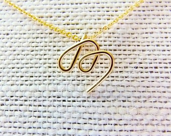 initial m necklace letter m necklace gold initial necklace cursive letter necklace letter necklace initial necklace personalized