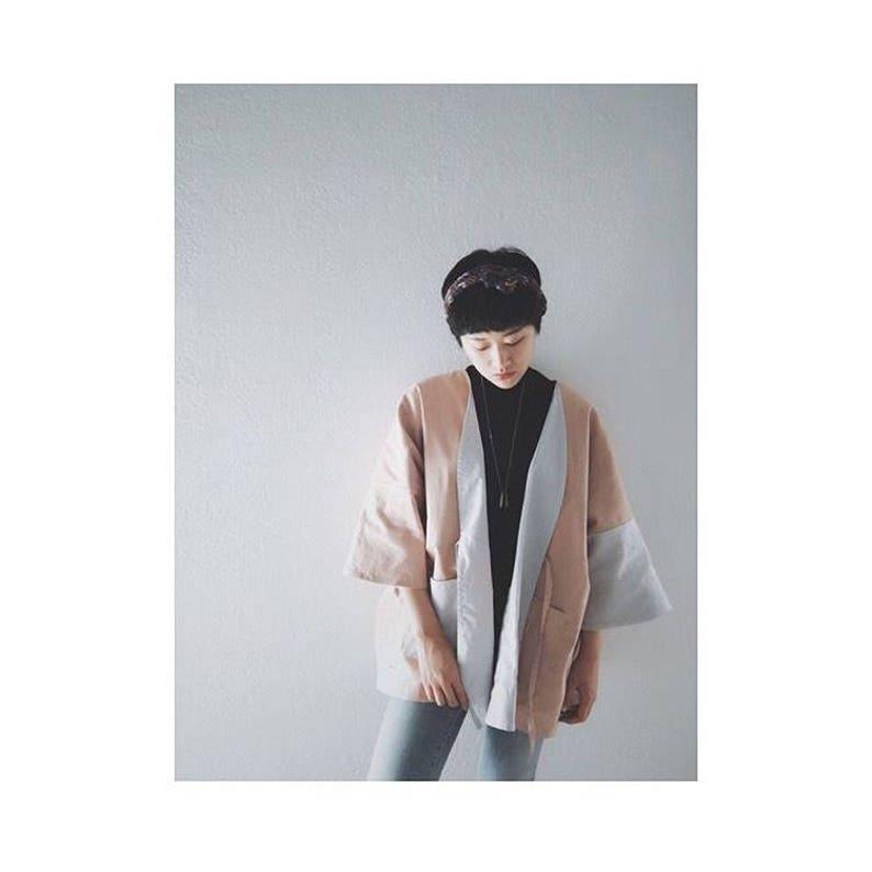Linen Reversible Kimono image 0