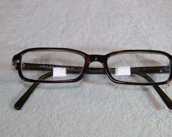 a30c4fb800 Vintage Prada Rx Glasses With Case