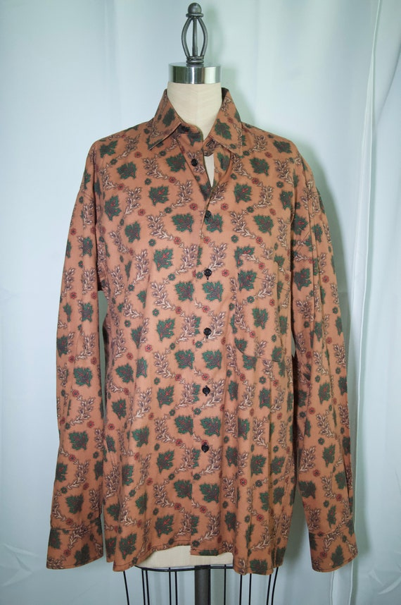 Souleiado French Country Cotton Shirt