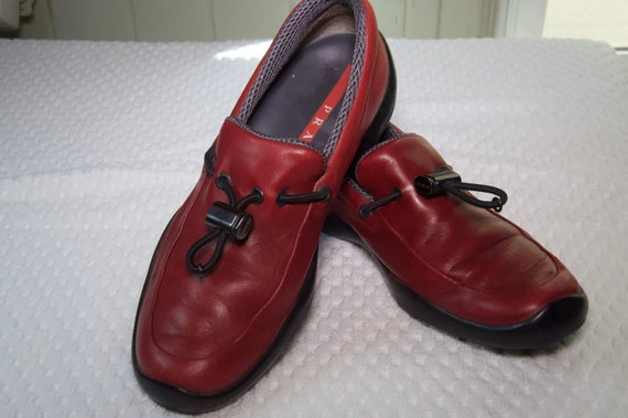 Prada Red Leather Shoes - image 6