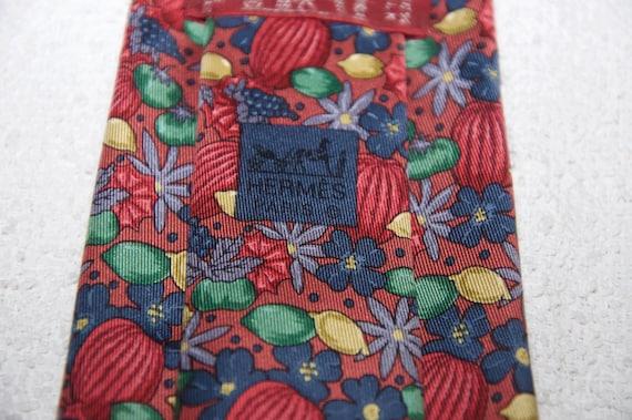Vintage Hermes Silk Tie - image 4