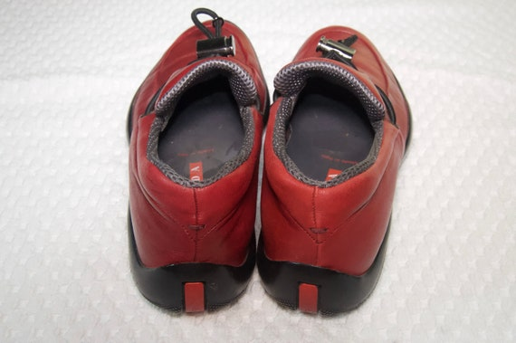 Prada Red Leather Shoes - image 2