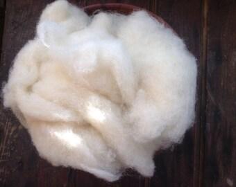 The PERFECT Craft Wool - 8oz Eco Core Wool  Batting- Organic Core Fiber- Craft Wool- Needle Felting Wool