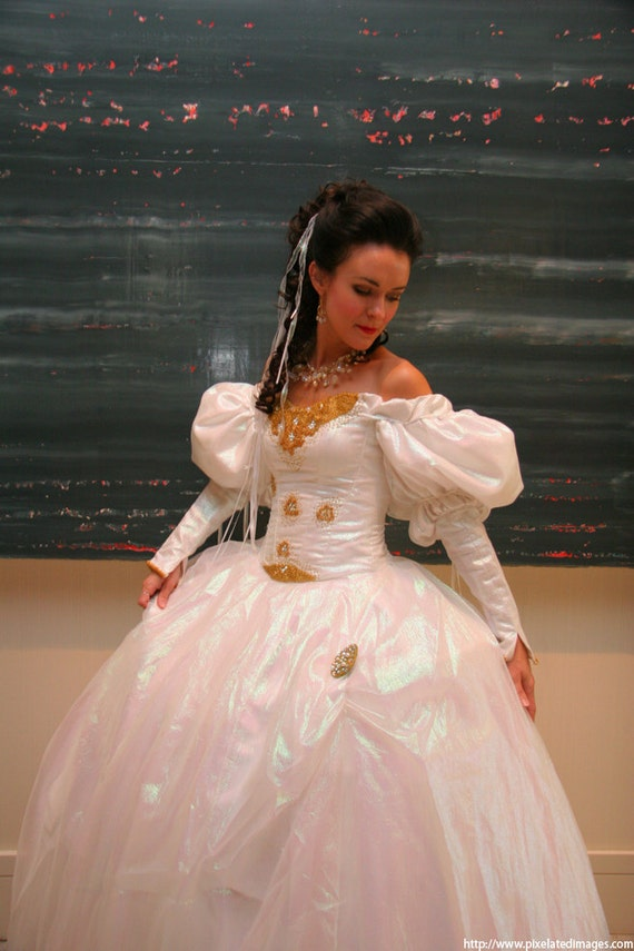 Items similar to Labyrinth Costume: Sarah\'s Ballgown...made to order ...