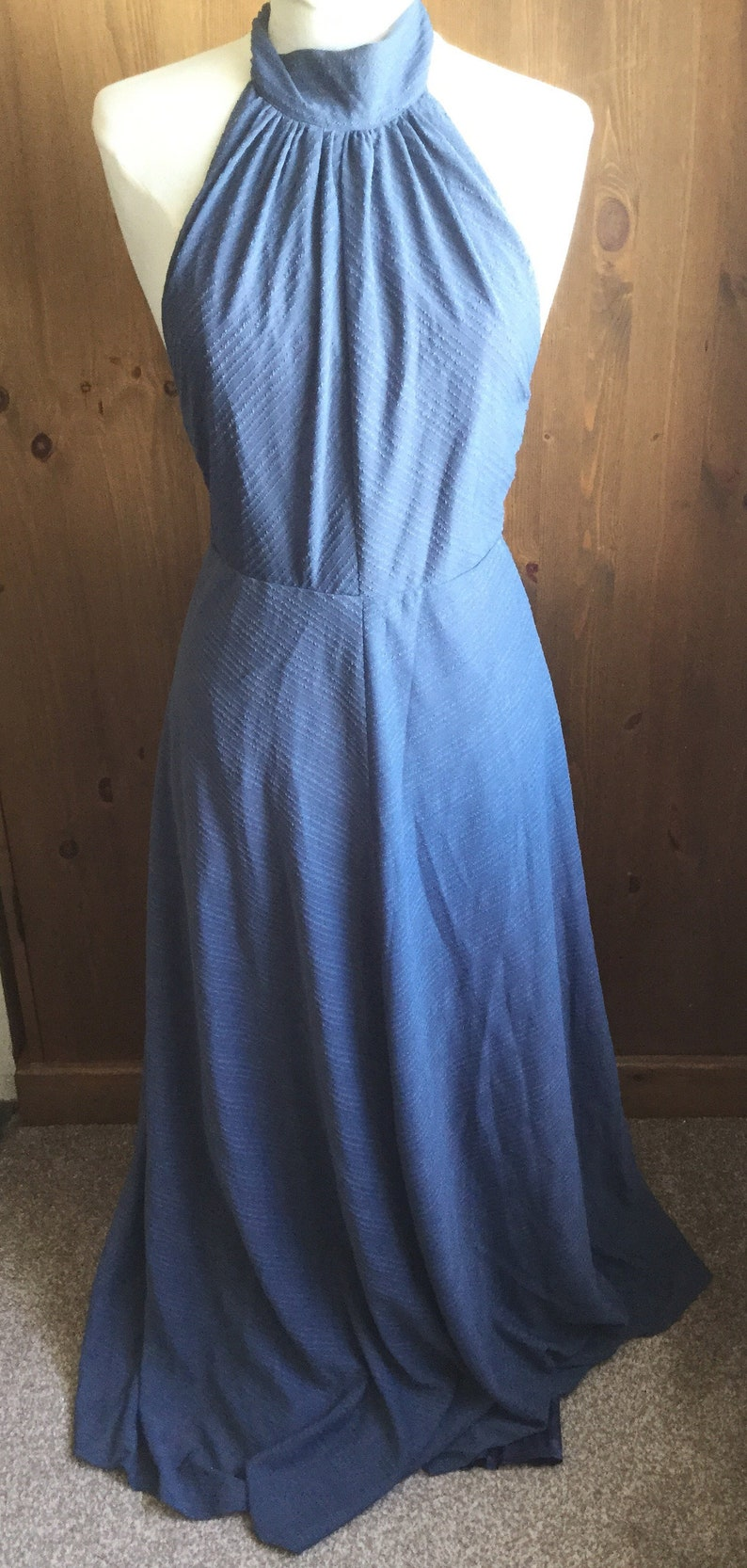 stunning maxi vintage Simon Jeffrey size 14 hips 3639 bust 36 lined