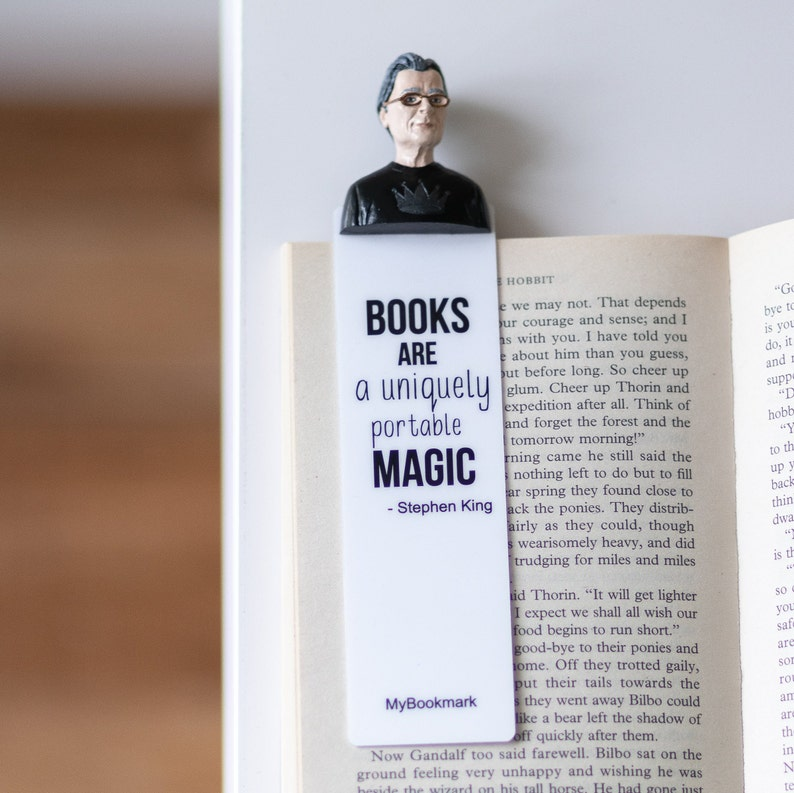 Stephen King Handmade Cute Bookmark Unique Fiction Lovers Excellent Wedding  Couple Wonderful Gift for Girl Women Book Lover Mother Day Gift