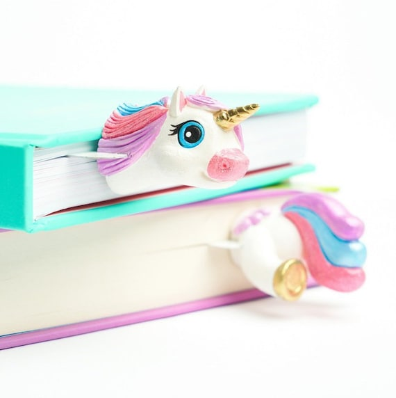 Rainbows /& Unicorns Pack of 6 Bookmarks Kids Gift Present Perfect Party Bags