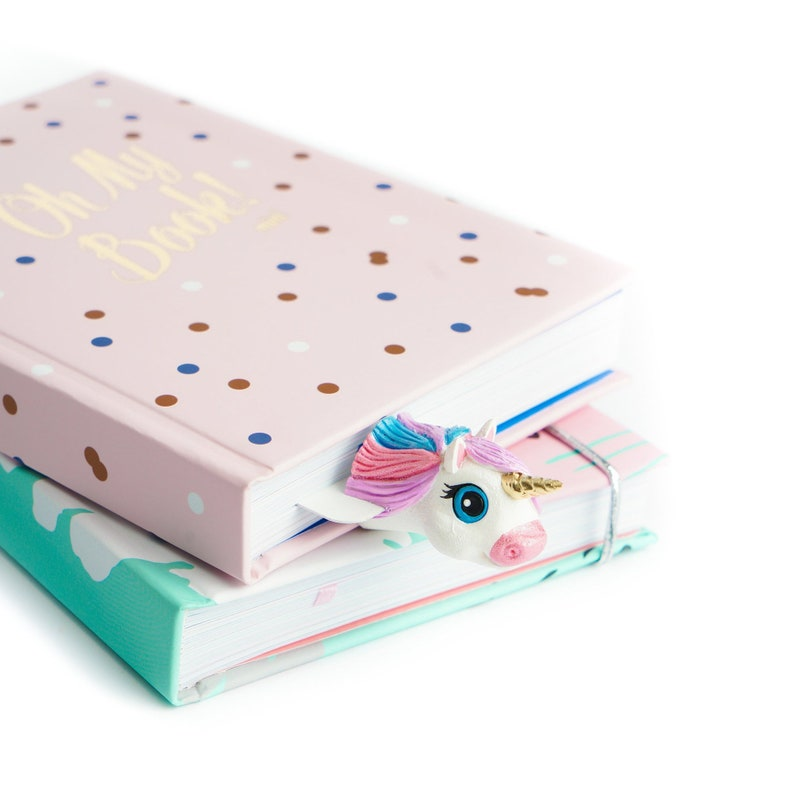 Glam Unicorn Bookmark Baby Shower Gift 1st Birthday For