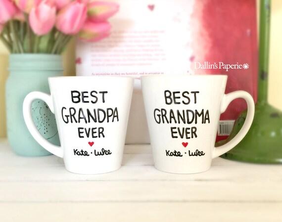 Personalized Mug Mothers Day Gift Grandma Mug Grandpa Mug Etsy