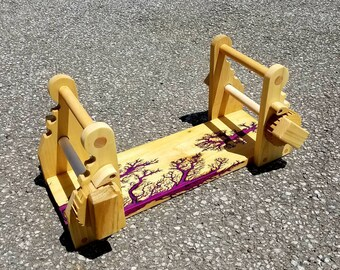 High Voltage Sugilite and Poplar tablet loom great for beginners!