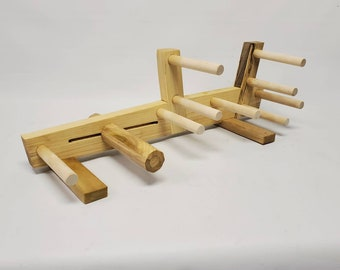 Poplar Inkle loom that's good for card and tablet weaving