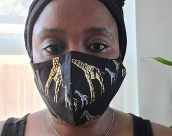 Not Applicable Head Wrap,Africa Safari Giraffes And Elephants Balaclavas 16-In-1 Bandana,Adult Headband For Sport Running Climbing