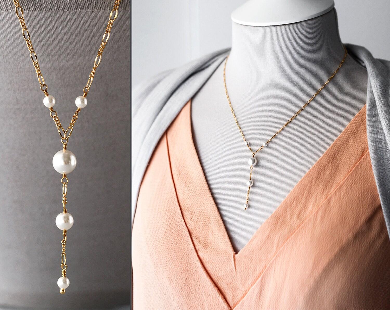 BAILYSBEADS weiss//schwarz Jaspis Halskette Kette mit Onyx Anhänger 242