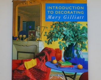Introduction to Decorating Mary Gilliatt 1992 vintage interior design book eclectic modern classic how-to guide Terence Conran style