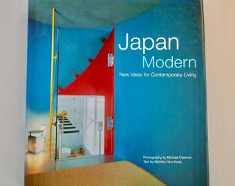 Japan Modern New Ideas for Contemporary Living Michael Freeman Michiko Rico Nosé vintage interior design architecture coffee table book