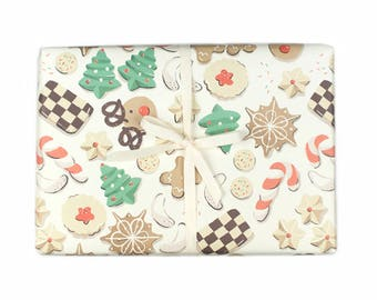 Christmas Cookie Gift Wrap