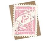 Always & Forever Stamp - Die cut card