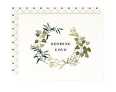 Sending Love - Greeting Card