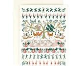 12 Days of Christmas - Holiday Card