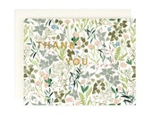 Wildflower Thank You - Greeting Card