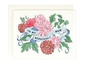 To My Beautiful Mum - Greeting Card