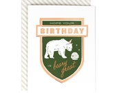 Hope Your Birthday Is Beary Great - Birthday Card