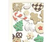 Christmas Cookies - Holiday Card