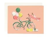 Bicycle Happy Birthday - Birthday Card