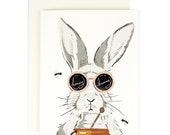 Honey Bunny - Love Valentine's Card