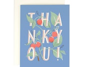 Thank You Cherry - Greeting Card