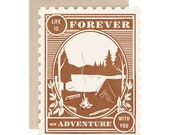 Life Is Forever An Adventure With You - Greeting Card