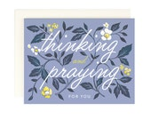 Thinking and Praying Card