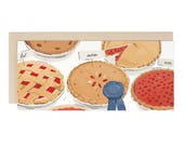 Best Mom Ever Pie Contest - Greeting Card