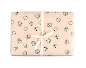 Blush Jingle Bell Gift Wrap