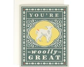 You're Woolly Great - Everyday Card